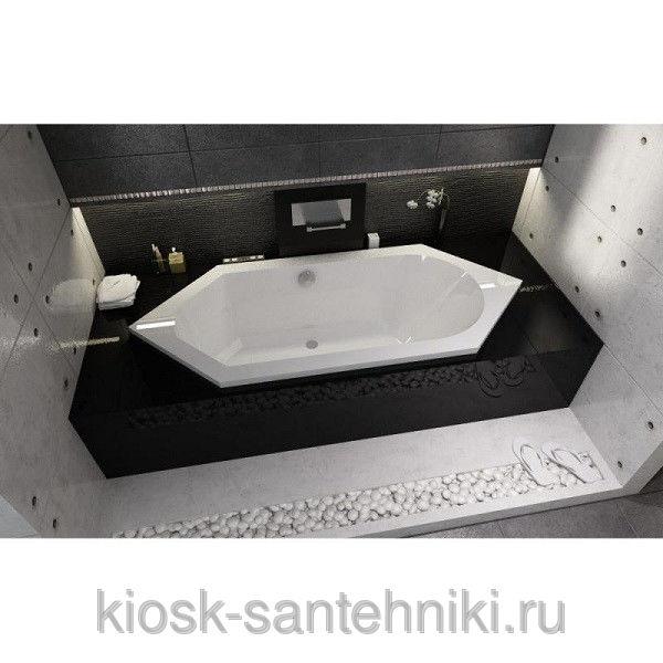 Фото 9987: Ванна акриловая Riho Alberta (B/P) 190x80/230 l BA3100500000000