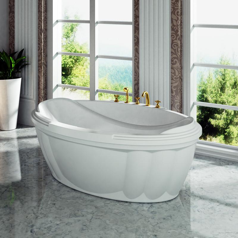 Фото 3197: Акриловая ванна без системы гидромассажа Радомир (Fra Grande) Гранада с панелью