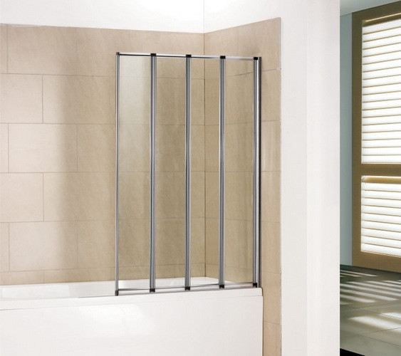 Фото 1821: Шторка на ванну складная маятниковая RGW SC-23 100х150 прозрачное 03112310-11