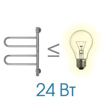 Фото 5278: Электрический полотенцесушитель Energy U chrome G2K