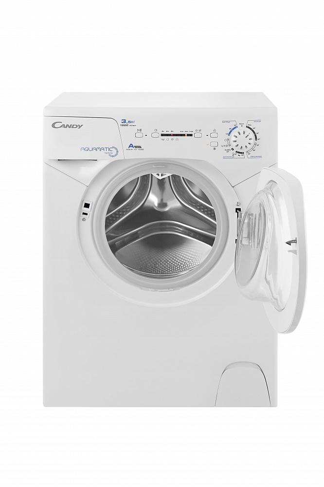 Фото 8581: Комплект: мини стиральная машина под раковину Candy 1d1035 с раковиной Лайт (Кувшинка)