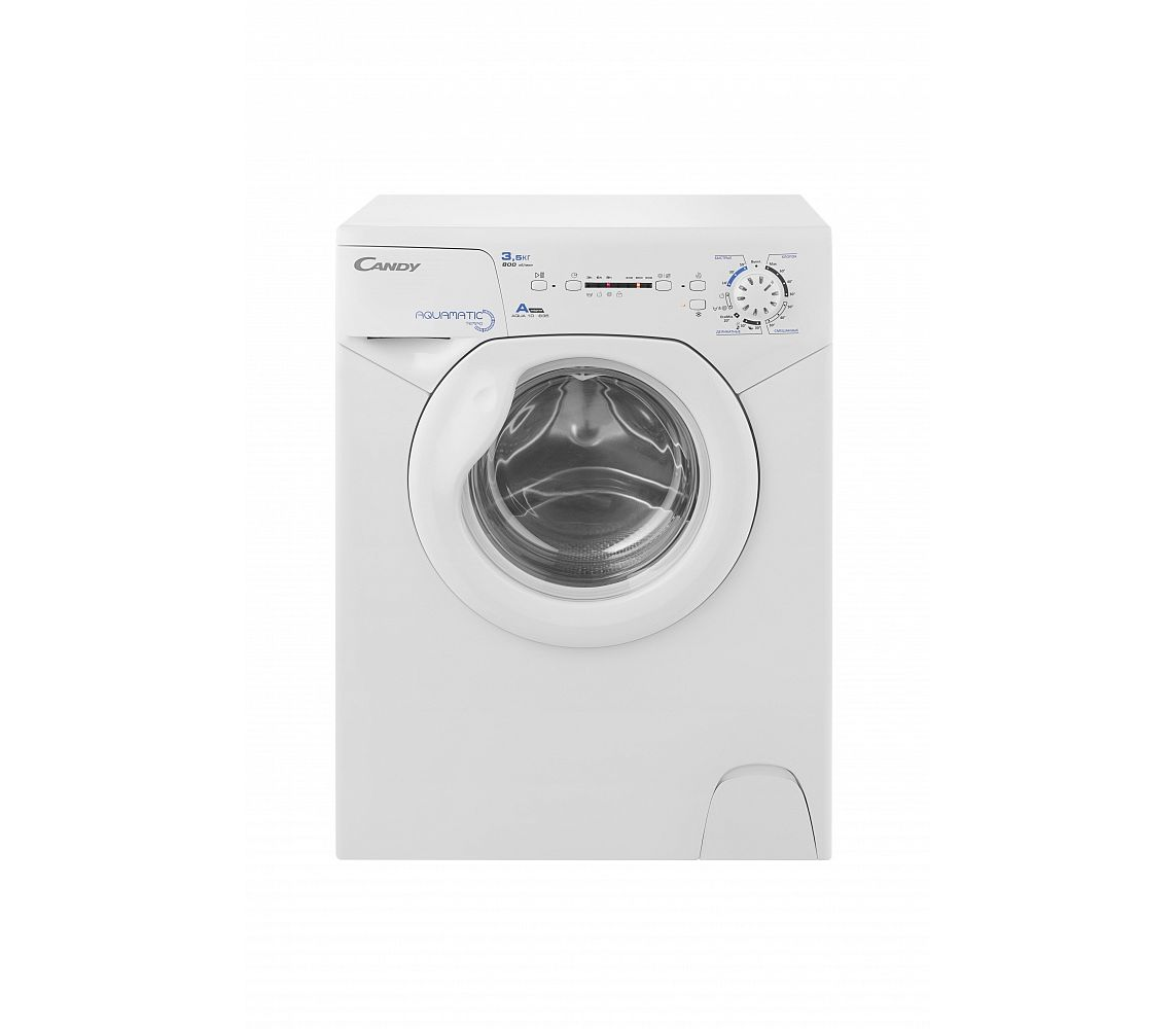 Фото 9348: Комплект: мини стиральная машина под раковину Candy 1d1035 с раковиной Buta (литьевой мрамор)
