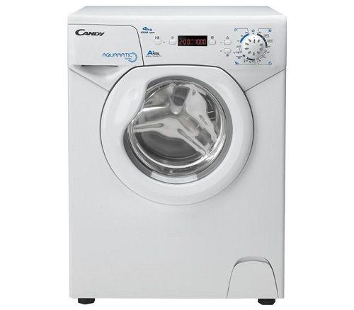 Фото 2966: Комплект: мини стиральная машина под раковину Candy Aqua 104D2-07 с раковиной Юни 60 (Кувшинка)