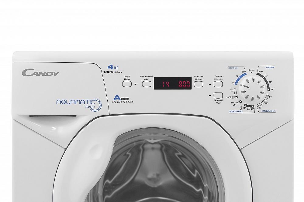 Фото 2457: Комплект: мини стиральная машина под раковину Candy Aqua 104D2-07 с раковиной Юни 60 (Кувшинка)