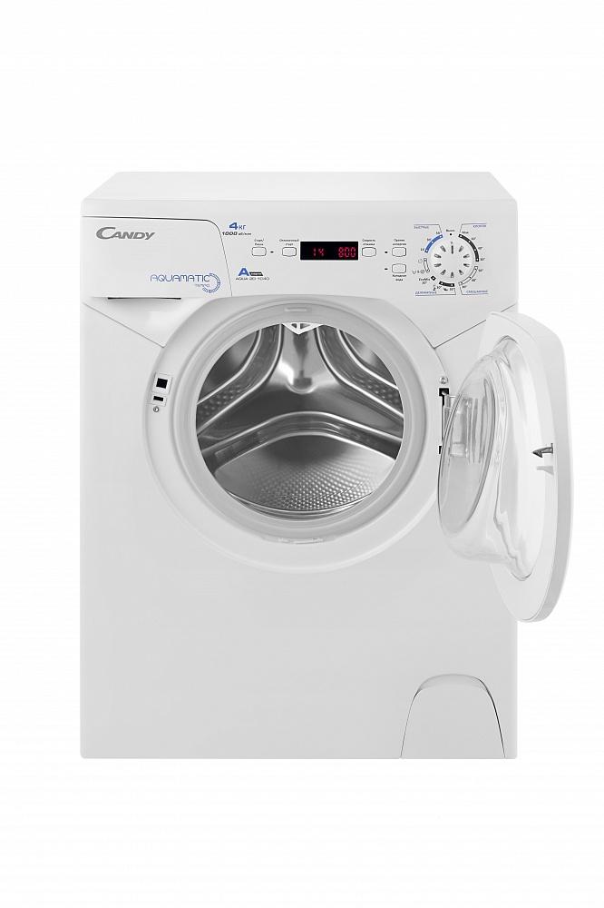 Фото 3934: Комплект: мини стиральная машина под раковину Candy Aqua 104D2-07 с раковиной LEA 60 (Луна) литьевой мрамор