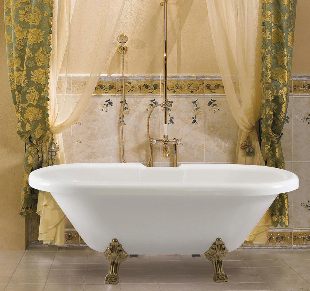 Фото 2558: Акриловая ванна Finn Марита отдельностоящая 170x79 см
