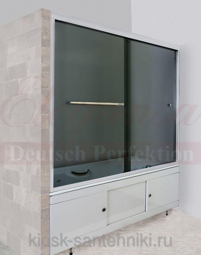 Фото 6075: Душевое ограждение Elegansa TR (3100) Grey 1800*1500