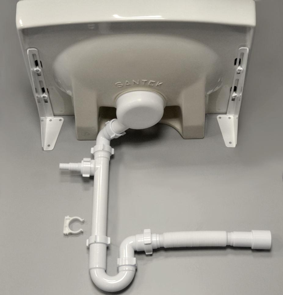 Фото 4879: Комплект: стиральная машина под раковину Hotpoint-Ariston VMUL 501 B с раковиной Пилот 50/60