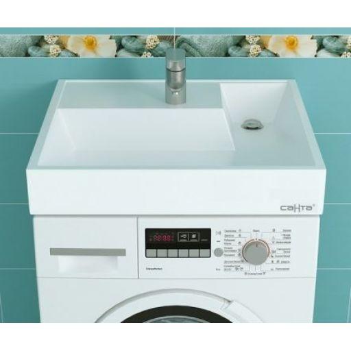 Фото 8119: Раковина над стиральной машиной Санта Юпитер 50