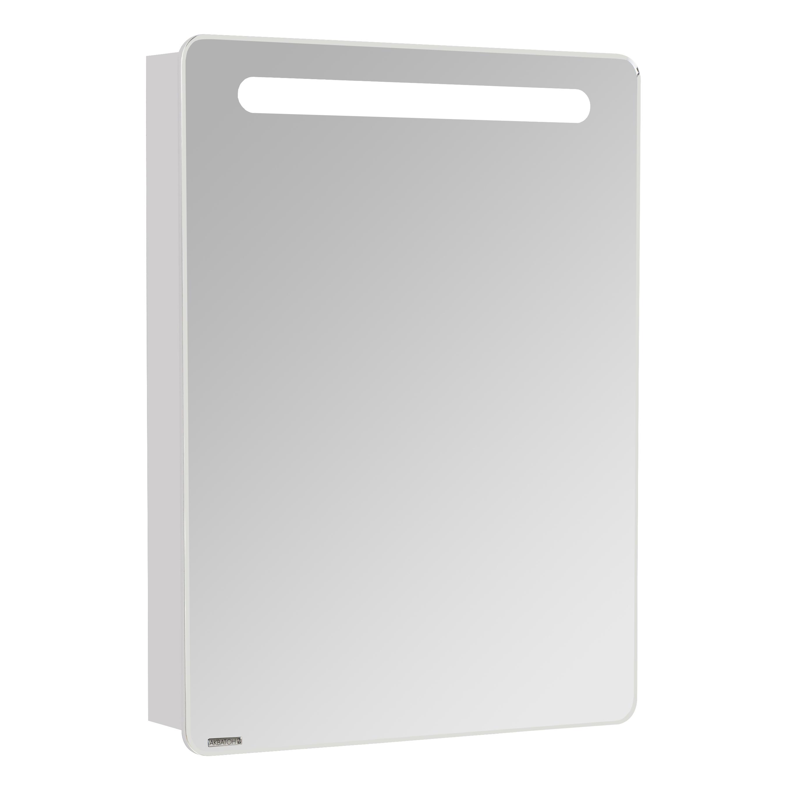 Фото 4873: Зеркальный шкаф Акватон АМЕРИНА 60 Белый правый 1A135302AM01R