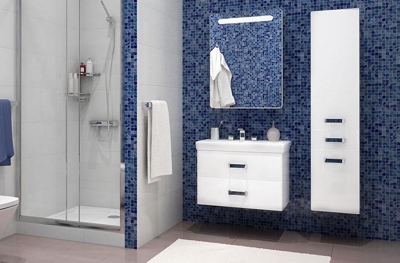 Фото 8434: Зеркальный шкаф Акватон АМЕРИНА 60 Белый правый 1A135302AM01R