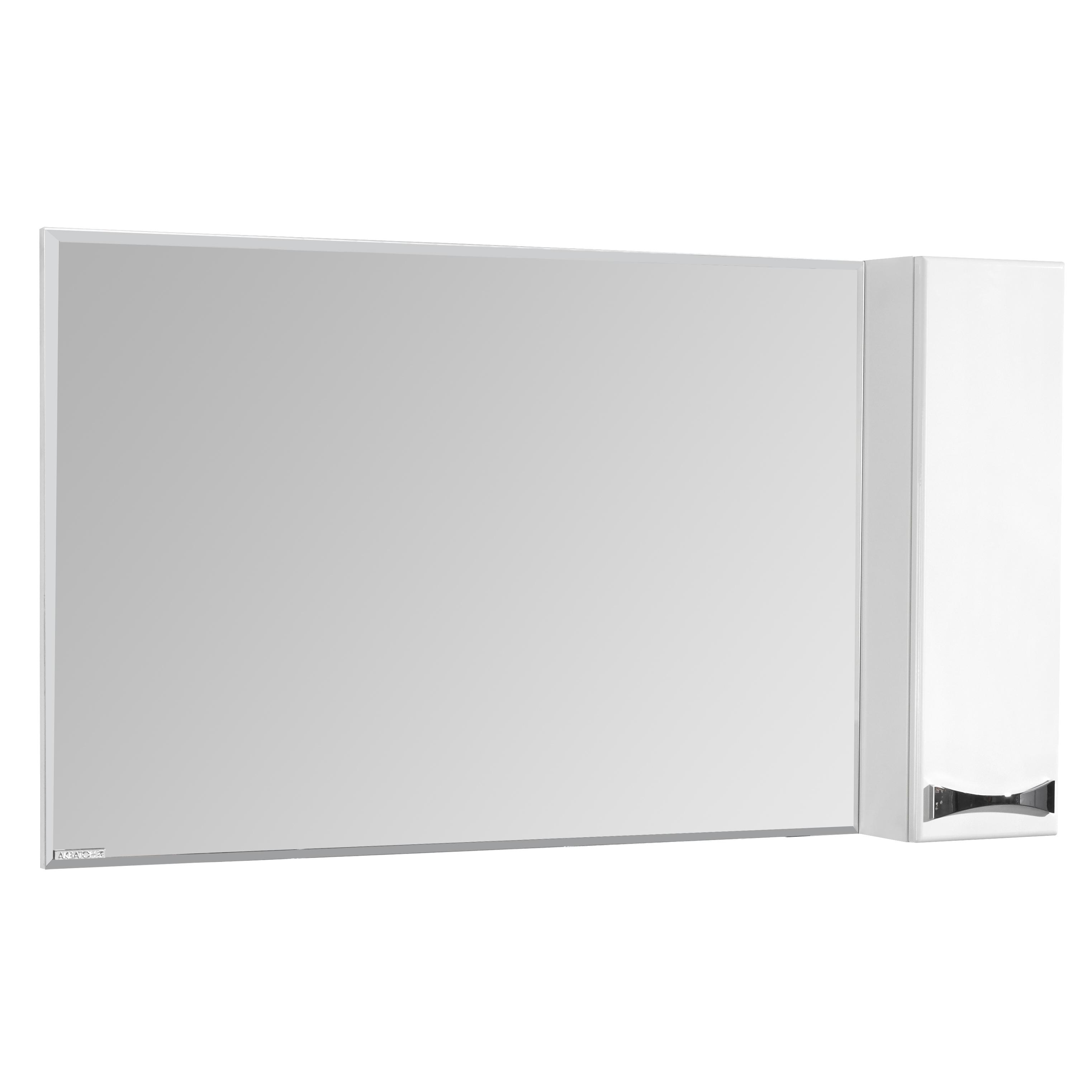Фото 8413: Зеркало шкаф Акватон ДИОР 120 белый 1A110702DR01R