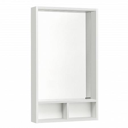 Фото 2405: Зеркало Акватон ЙОРК 50 белый/выбеленное дерево 1A170002YOAY0