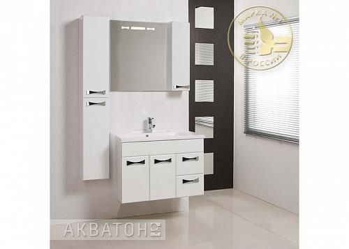 Фото 7184: Зеркало шкаф Акватон ДИОР 80 белый 1A168002DR01R
