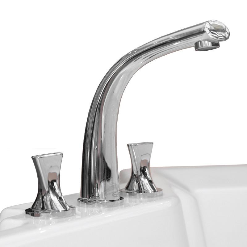 Фото 8778: Смеситель Радомир для ванны из пяти элементов Фламинго Chrome
