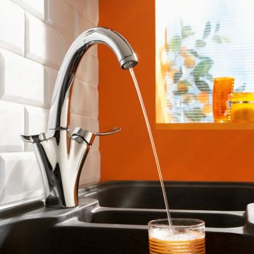 Фото 1552: Смеситель для кухни с фильтром очистки воды Jacob Delafon Carafe