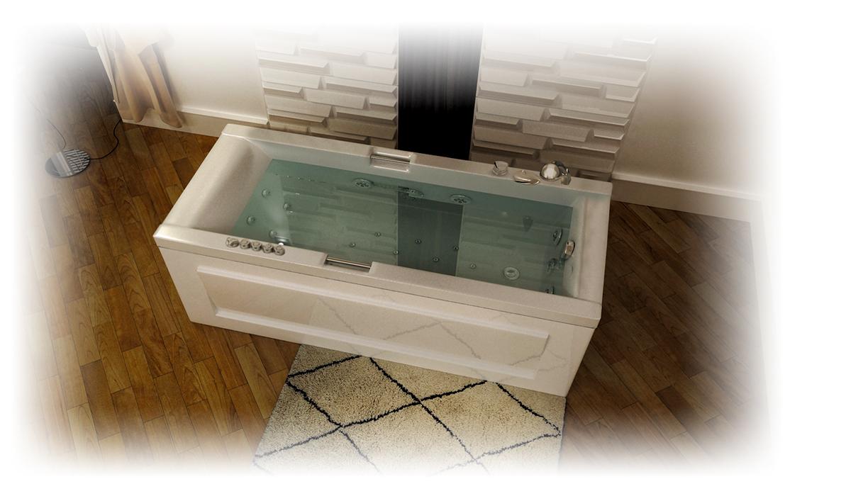 Фото 2143: Ванна акриловая Тритон Александрия 170