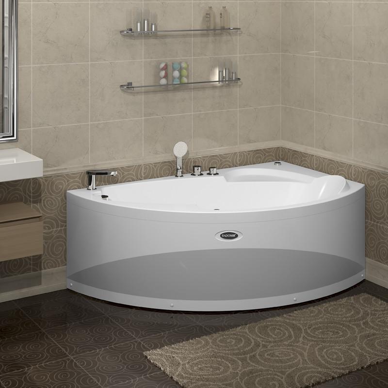 Фото 4104: Акриловая ванна с гидромассажем ВАРНА WHITE серия Standart