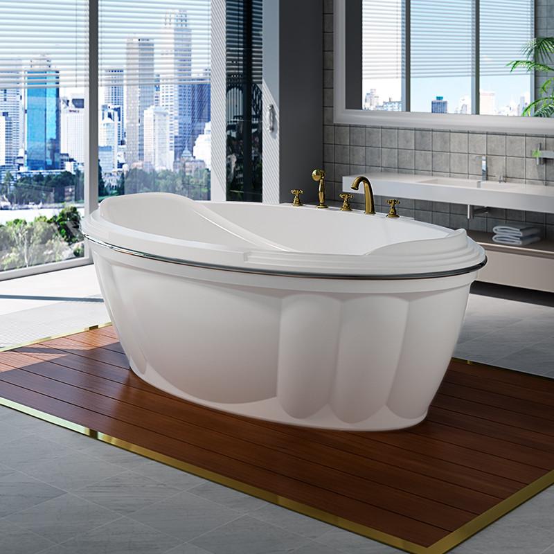 Фото 9226: Акриловая ванна без системы гидромассажа Радомир (Fra Grande) Гранада с панелью
