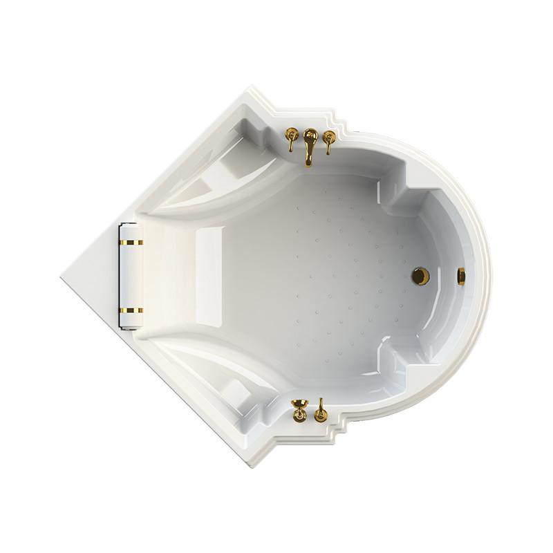 Фото 6737: Акриловая ванна без системы гидромассажа Радомир (Fra Grande) Монте-карло с панелью