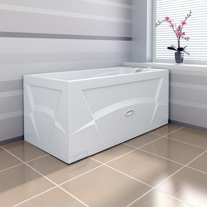 Фото 7606: Гидромассажная ванна Радомир (Wachter) Орнела (форсунки хром)