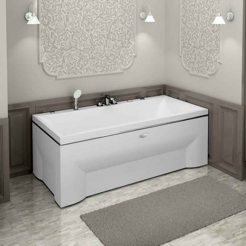Фото 5989: Гидромассажная ванна ПАЛЕРМО WHITE серия Сomfort
