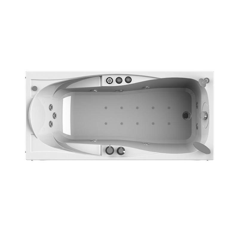 Фото 8195: Гидромассажная ванна серия ПАРМА WHITE серия Standard