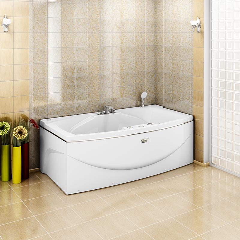 Фото 5944: Гидромассажная ванна СИЭТЛ CHROME серия Сomfort