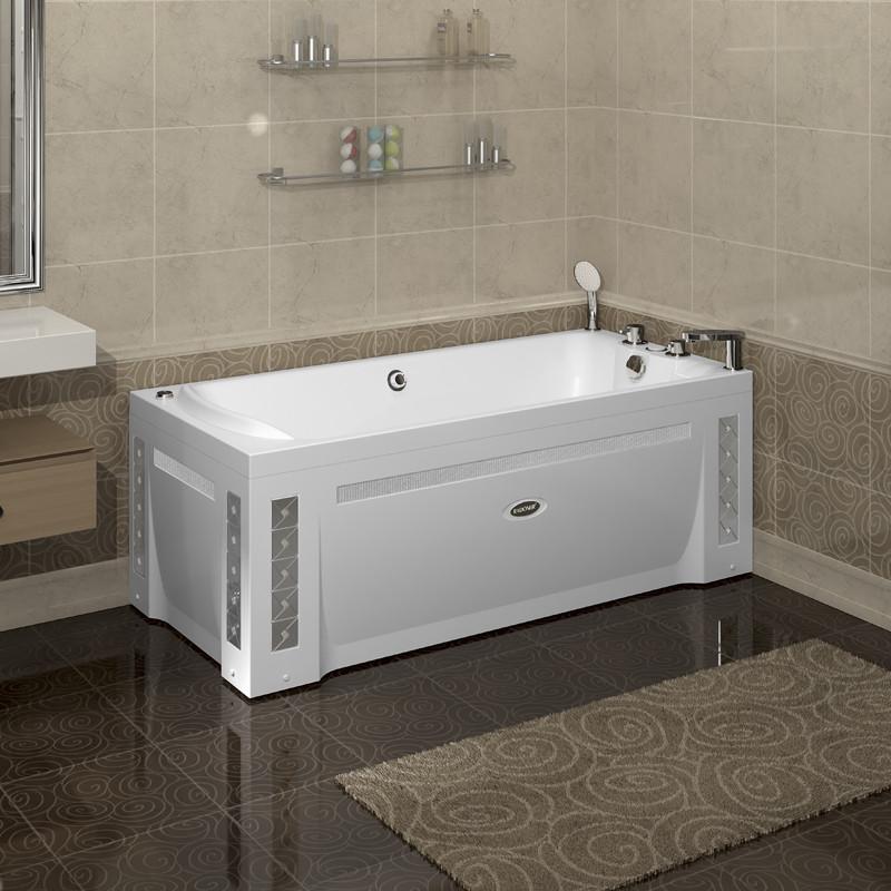 Фото 3550: Гидромассажная ванна ЛАРЕДО 2 WHITE серия Standard