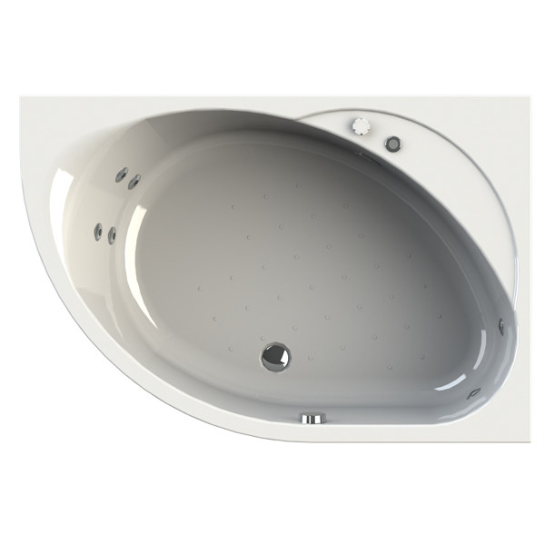 Фото 7142: Гидромассажная ванна Радомир (Wachter) Мелани (форсунки хром)