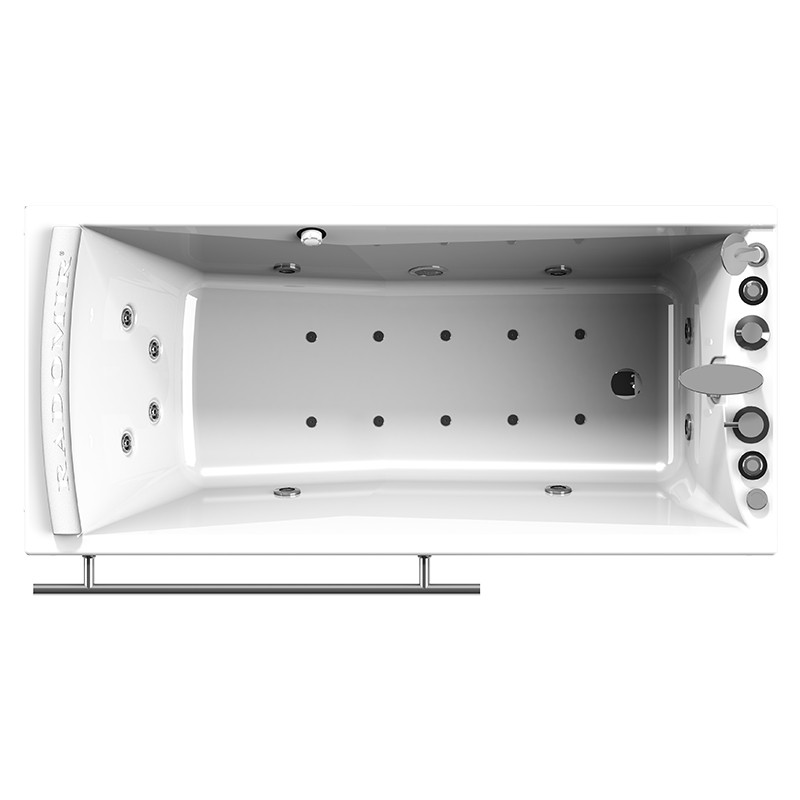 Фото 1540: Гидромассажная ванна ВЕГА WHITE серия Standard