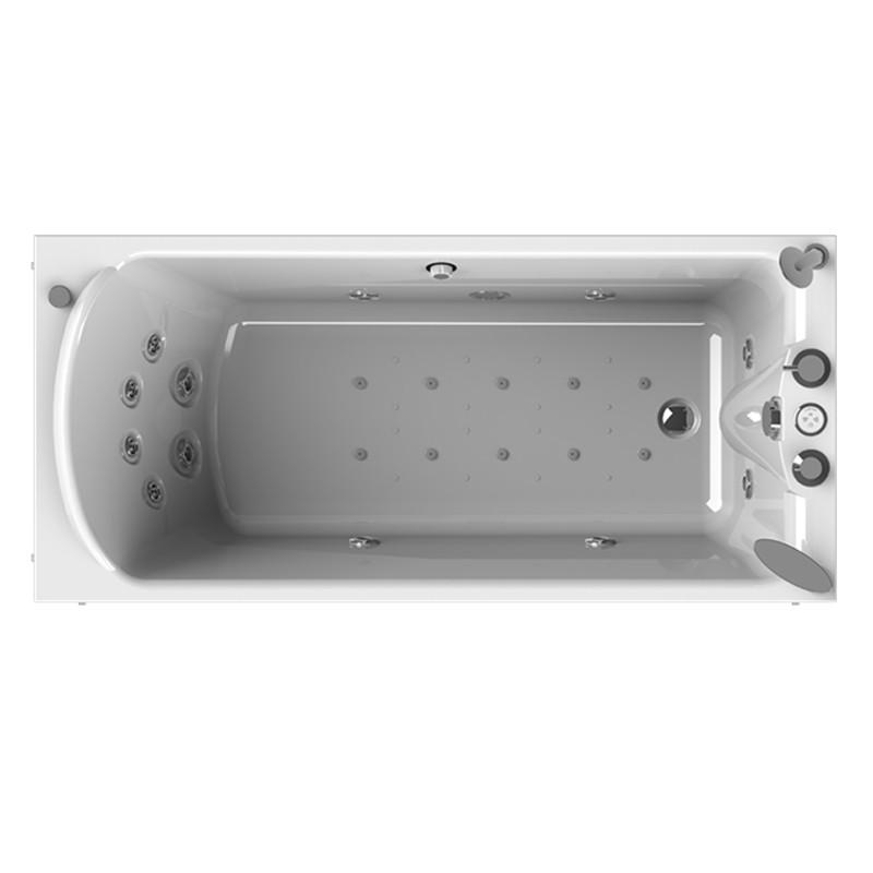 Фото 3133: Гидромассажная ванна ЛАРЕДО 2 WHITE серия Standard