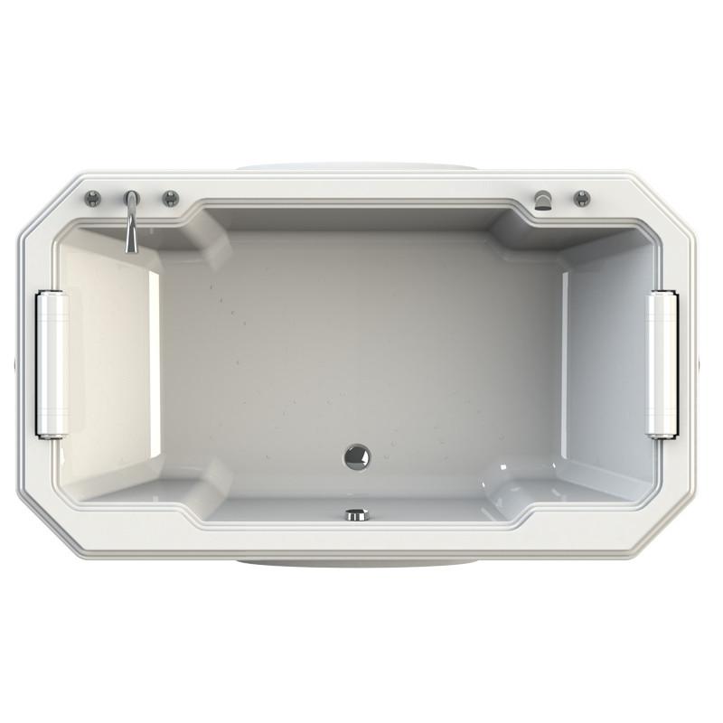 Фото 4206: Акриловая ванна Радомир (FRA GRANDE) Фонтенбло с панелью