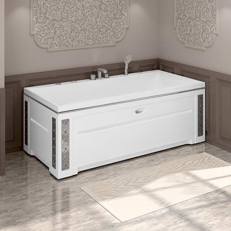 Фото 8506: Гидромассажная ванна ПАЛЕРМО WHITE серия Сomfort