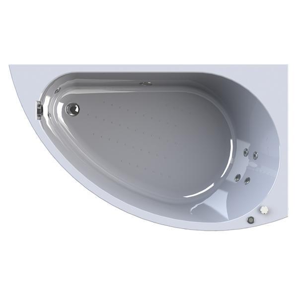 Фото 6668: Гидромассажная ванна Радомир (Wachter) Бергамо (форсунки хром)