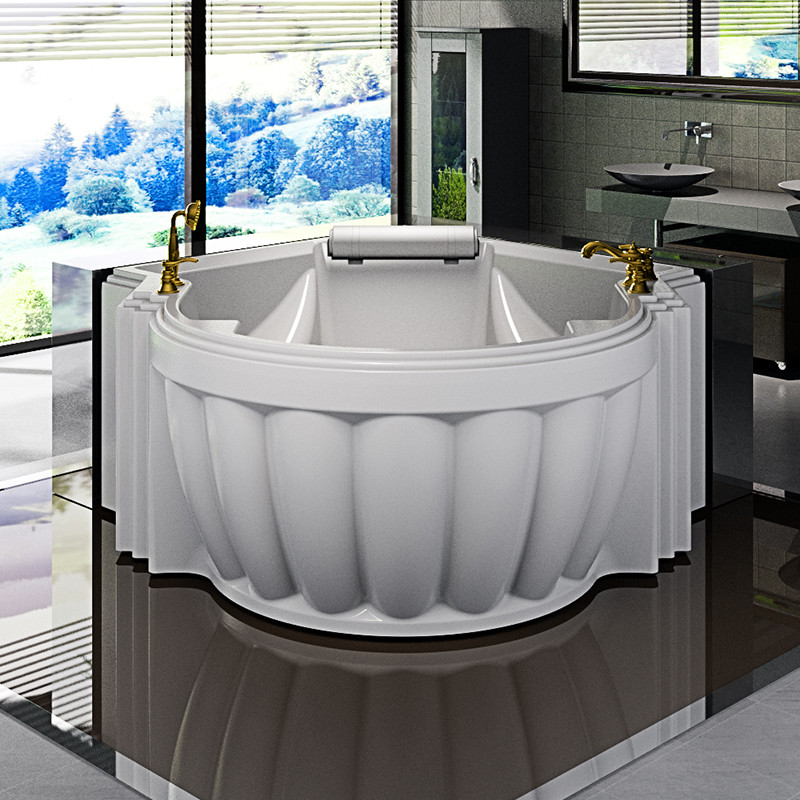 Фото 8886: Акриловая ванна без системы гидромассажа Радомир (Fra Grande) Монте-карло с панелью
