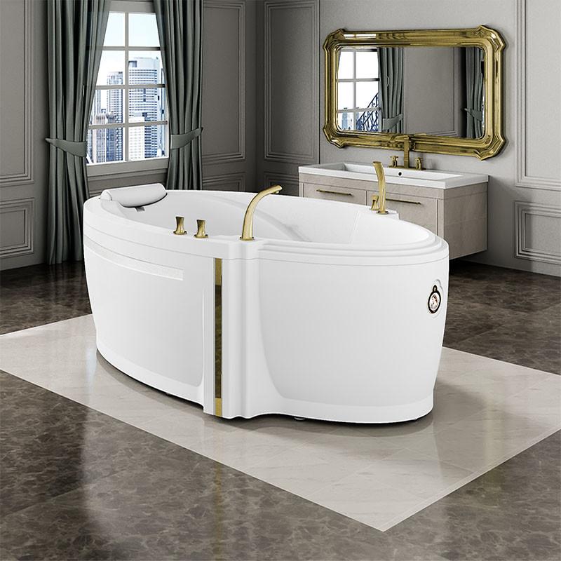Фото 559: Акриловая ванна без системы гидромассажа Радомир (Fra Grande) Ницца с панелью
