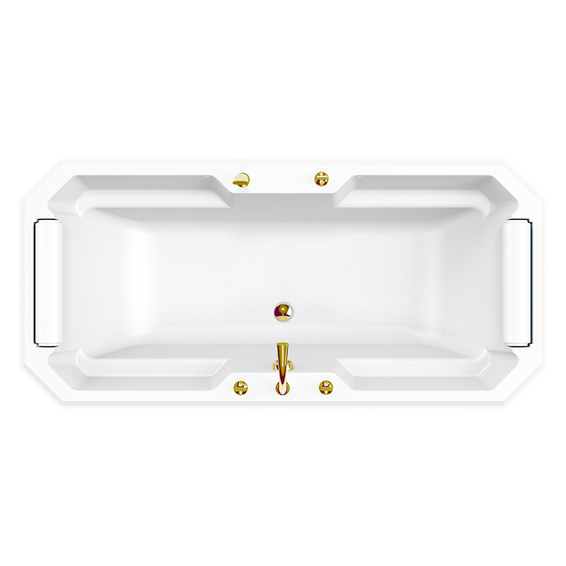 Фото 1348: Акриловая ванна без системы гидромассажа Радомир (Fra Grande) Фернандо с панелью