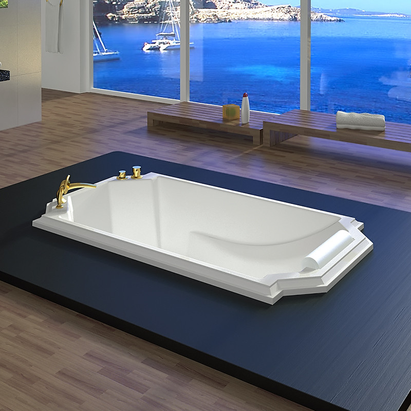 Фото 2020: Акриловая ванна без системы гидромассажа Радомир (Fra Grande) Эстелона