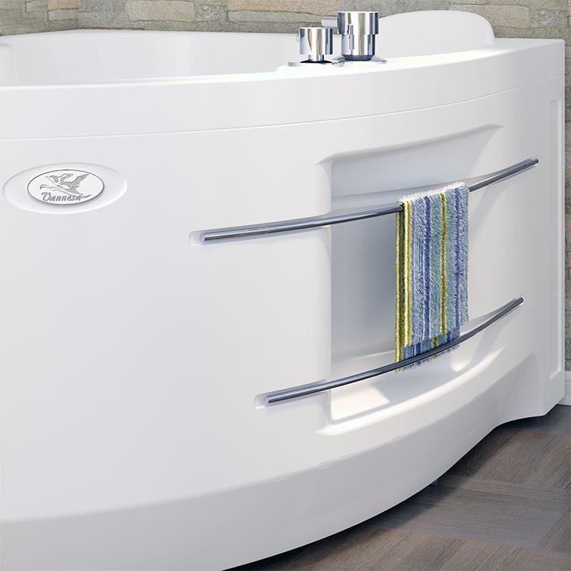 Фото 7026: Акриловая ванна без системы гидромассажа Радомир (Vannesa) Ирма 2