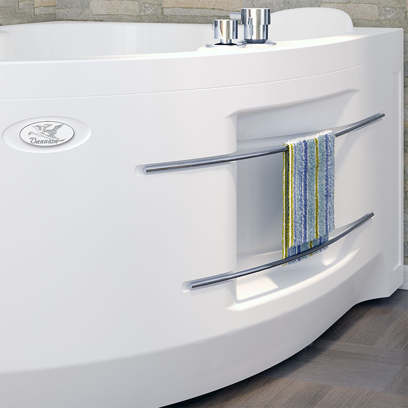 Фото 3469: Акриловая ванна без системы гидромассажа Радомир (Vannesa) Ирма