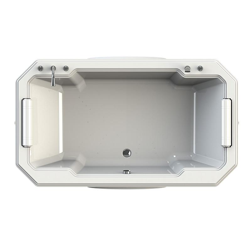 Фото 6058: Акриловая ванна без системы гидромассажа Радомир (Fra Grande) Фонтенбло встраиваемая