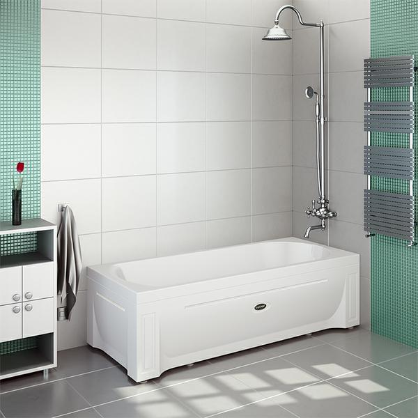 Фото 5497: Акриловая ванна без системы гидромассажа Радомир (Vannesa) Аврора 3
