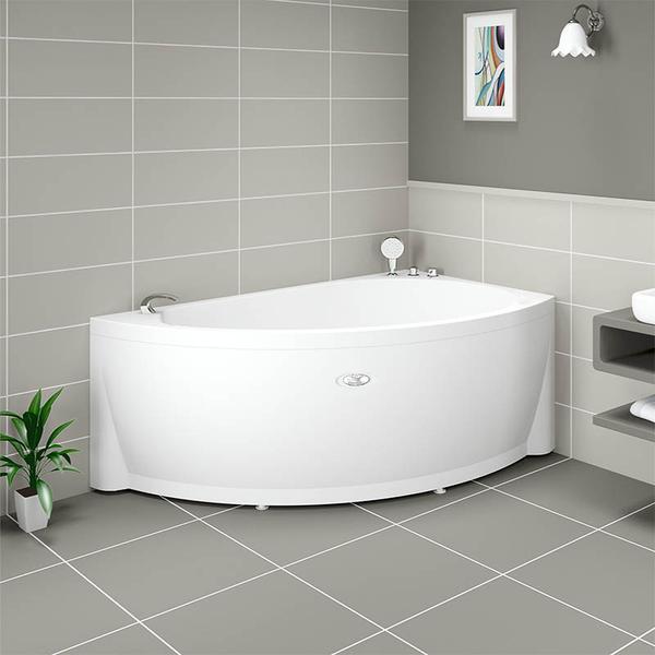 Фото 2358: Акриловая ванна без системы гидромассажа Радомир (Vannesa) Бергамо