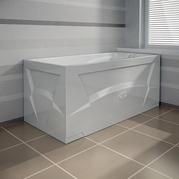 Фото 6093: Акриловая ванна без системы гидромассажа Радомир (Vannesa) Орнела