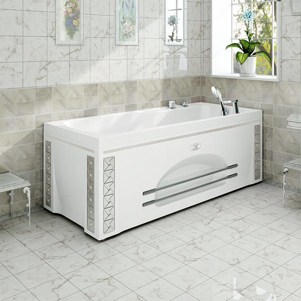 Фото 9908: Акриловая ванна без системы гидромассажа Радомир (Vannesa) Регина