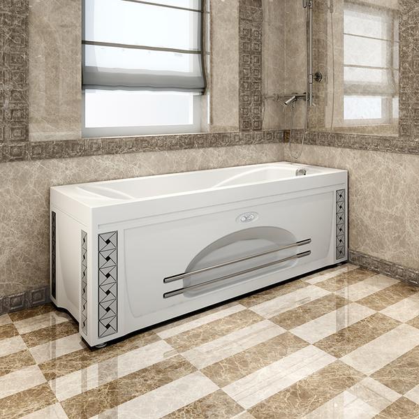 Фото 8560: Акриловая ванна без системы гидромассажа Радомир (Vannesa) Сильвия