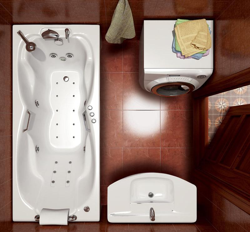 Фото 5704: Ванна акриловая Тритон Персей 190х90х65