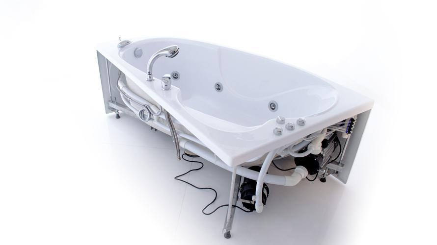 Фото 2765: Ванна акриловая Тритон Изабель L/R 170х100х63
