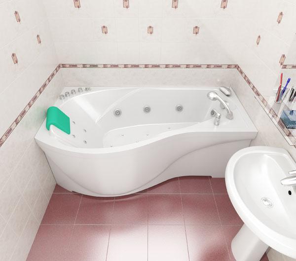 Фото 4355: Ванна акриловая Тритон Мишель 170х96х60